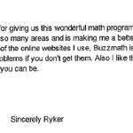 BuzzMath ThankYou